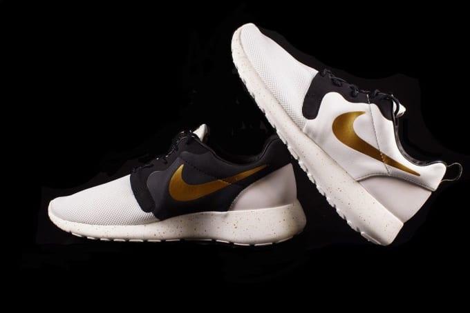 Nike Roshe Run Hyperfuse Gold Ebay