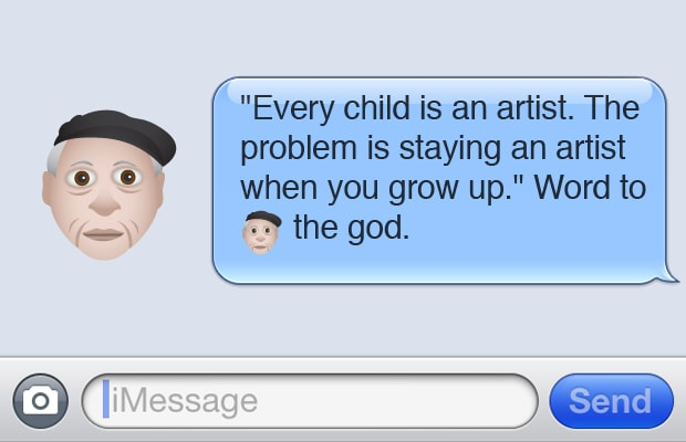 Picasso - 15 Kanye West-Inspired Art and Design Emojis We ...
