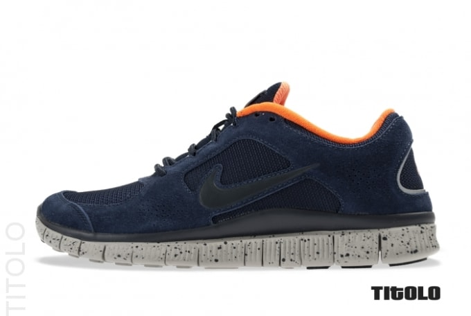 the latest 922c5 437dd Nike Running has dropped off a premium pair of its Free Run+ 3. Here the  kicks sport suede and mesh construction, noted via an Obsidian-colored  spread.