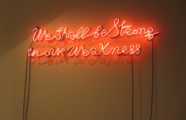 """""""We Shall Be Strong in Our Weakness"""" by Yael, 2012 - Art ..."""