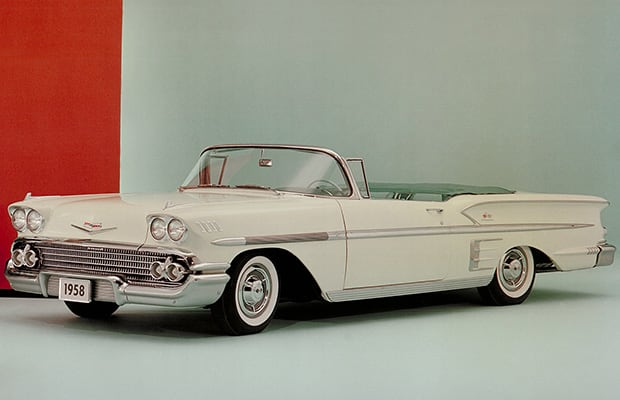 1958 The Complete History Of The Chevrolet Impala Complex