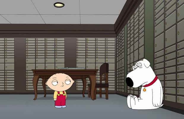 Family Guy Stewie Babysitter Episode / Accidental Tourist