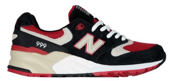 new balance 999 black red
