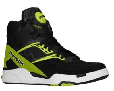 Green accents pop atop a black backdrop on this new colorway release of the Pump  Twilight Zone from Reebok. The retro hoops model has been comprised of ... dcf64084f