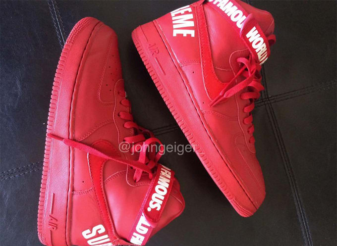 Nike Air Force Red October