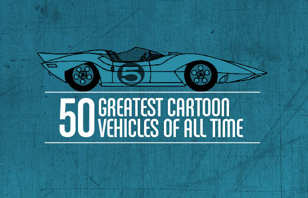 the 50 greatest cartoon vehicles of all time complex. Black Bedroom Furniture Sets. Home Design Ideas