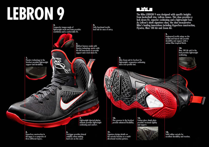 b29254400a25fd Photos of the LeBron 9 have been floating around for a while now