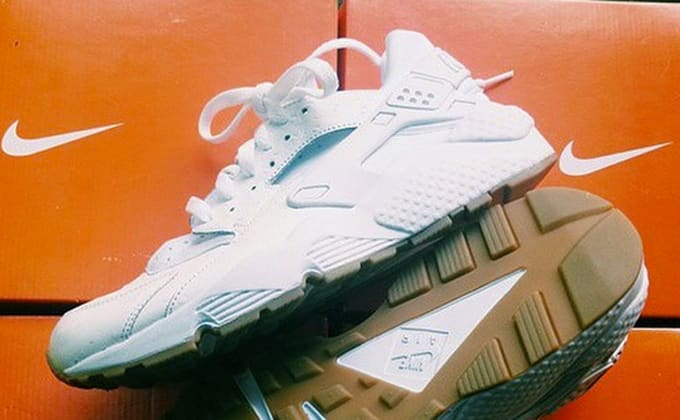 aabf62326306 Here s an Early Look at the White Nike Air Huarache
