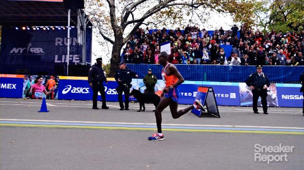Geoffrey Mutai NYC Marathon Winner