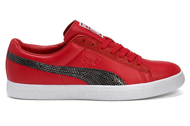 UNDFTD and Puma have once again linked to rework the iconic Clyde  silhouette. Utilizing a premium leather upper e4cc90d1d