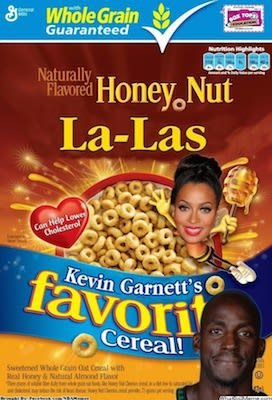 aa2680fe67b53 Kevin Garnett (Allegedly) Says What LaLa Anthony Tastes Like