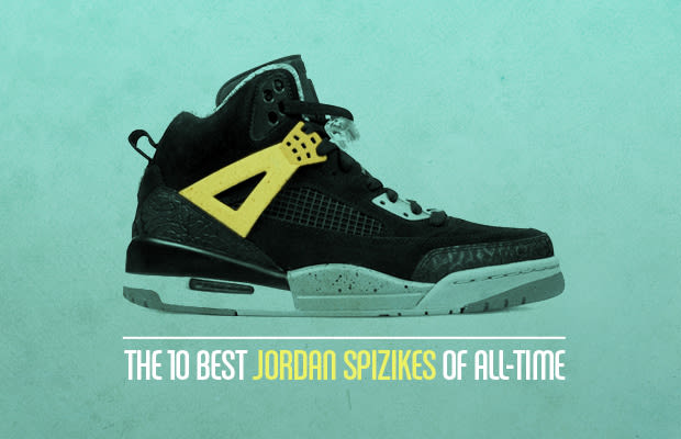 detailed pictures c2d38 daadb Hate  em or love  em, the Spizike is the shoe that has earned the Jordan  fusion experiment the most love. Originally it was going to be an  one-time-only ...