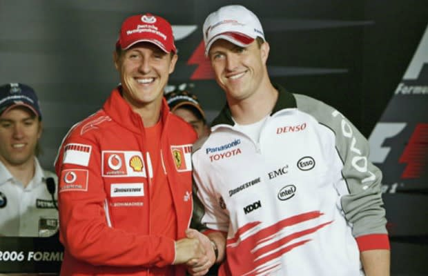 michael and ralf schumacher the 25 greatest brothers in. Black Bedroom Furniture Sets. Home Design Ideas