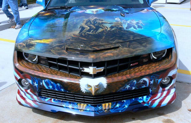 Airbrushing Model Cars