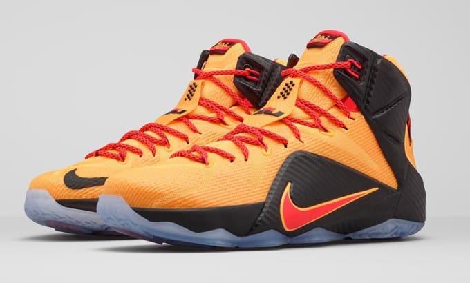 "0a64d86eb86 Nike LeBron 12 ""Witness"" - Sneaker Release Guide 2015-6-11"