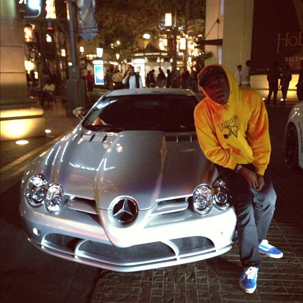 Mercedes - Taco From Odd Future's 25 Best Rides Photos on Instagram | Complex