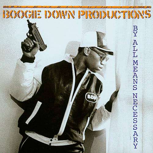 boogie down productions with gun