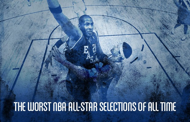 In every NBA All-Star game there are guys left out for whatever reason.  Whether it be due to injury a1c89b3fb