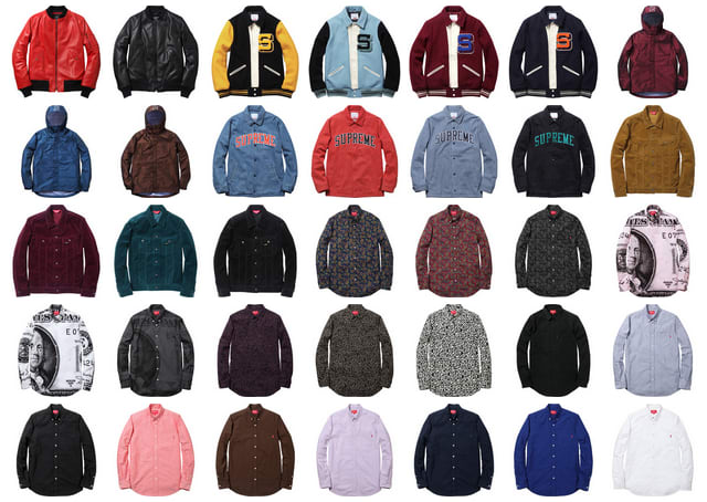 a95211af8730f If you weren t able to shop the Supreme Fall 13 collection in real life