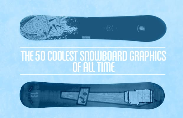 The 50 Coolest Snowboard Graphics Of All Time | Complex