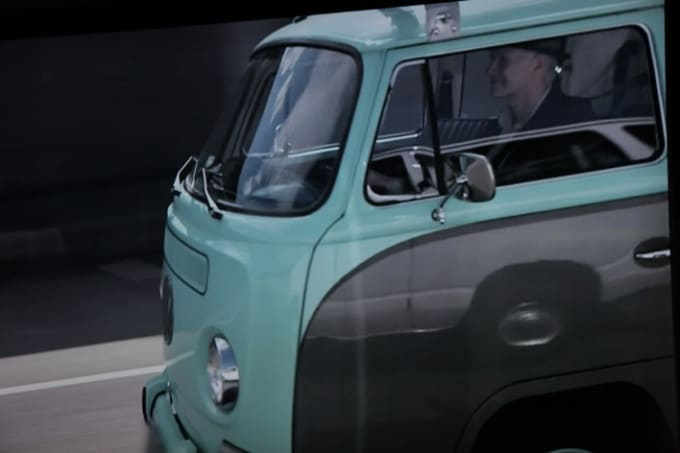 Tinker Drives a White and Turquoise VW Van - Things We ...