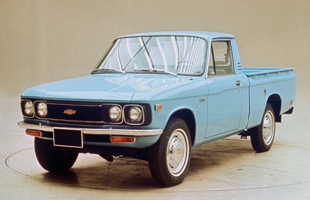 1972 Chevy LUV truck - YouTube