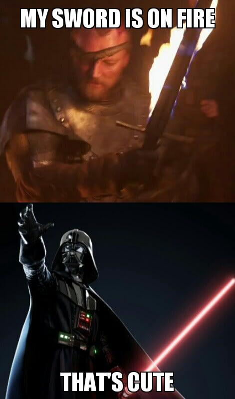 star wars vs game of thrones is the best new subreddit complex