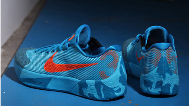 hot sales 66520 4a7c9 Image via afew. One recurring theme we ve seen with the KD Trey 5 II this  season is that ...