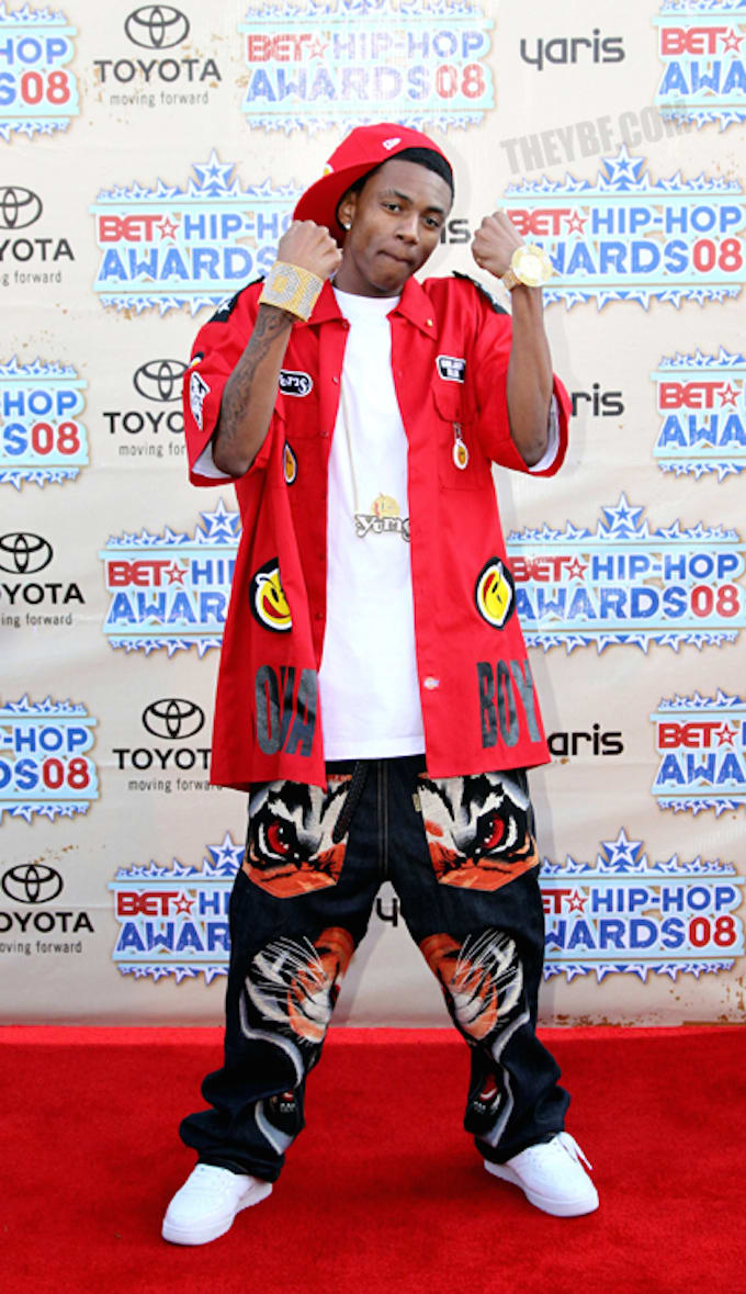 Soulja Boy Celebrities Show Why Absurdly Baggy Pants Are