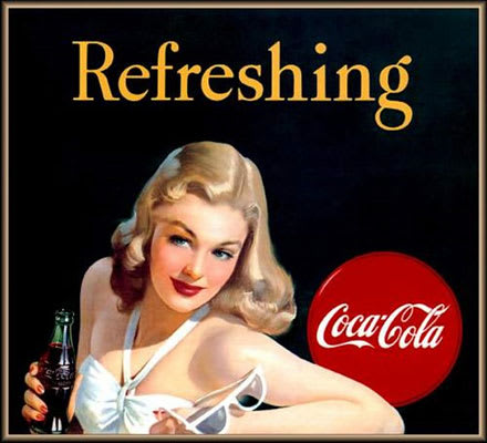 The 25 Hottest Women In Vintage Coca Cola Ads Complex