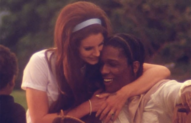 Lana Del Rey Nearly Set The Internet On Fire Yesterday When She Released Video For National Anthem In That Features A Cameo By AAP Rocky