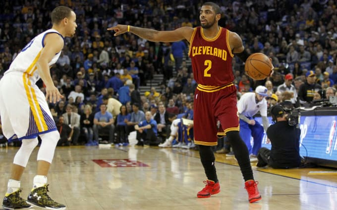 9b02d0fdb121 The NBA Fined Kyrie Irving for Wearing Red Sneakers and Nike Wasn t ...