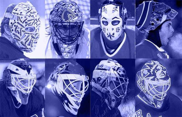 Richter So Icey The Ten Cooleset Nhl Goalie Mask Designs Complex