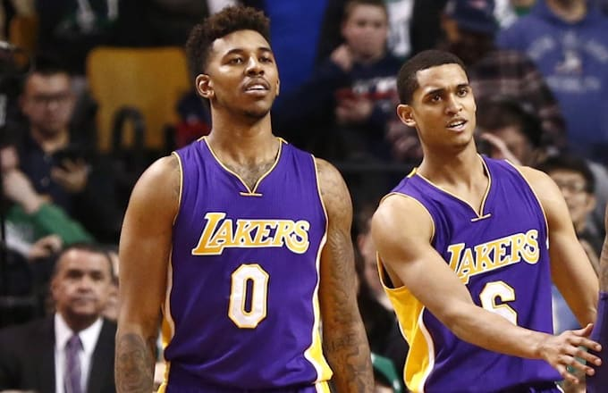 fd2293e2c34 Image via USA TODAY Spors Mark L. Baer. The Los Angeles Lakers are  investigating allegations that Nick Young and Jordan Clarkson sexually  harassed two women ...