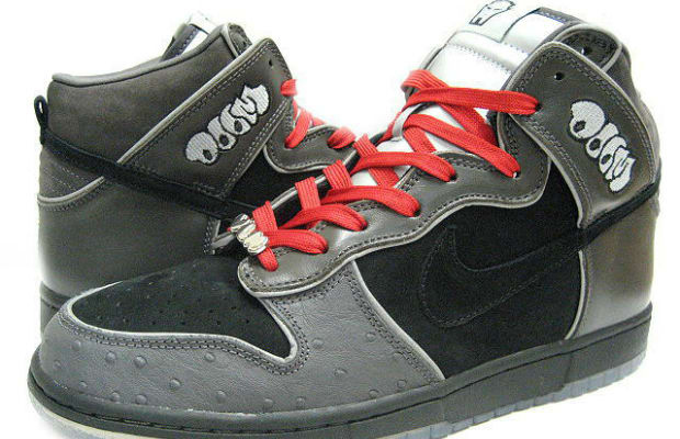 low priced 5ee51 87e67 ... MF DOOM collaborated with Nike SB for his own pair of dunks.