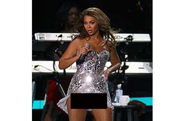 Celebrity wardrobe malfunctions in public