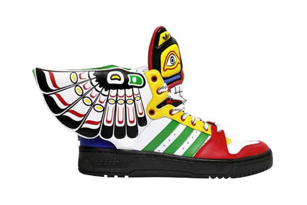 reputable site 47316 4dd06 Jeremy Scott x adidas Originals JS Wings