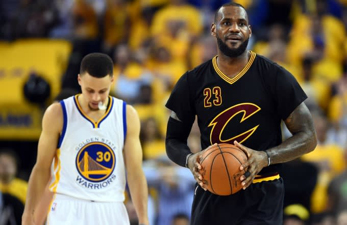 25ed88b3a51 LeBron James Reportedly Called for Cavaliers to Wear Black Sleeved ...