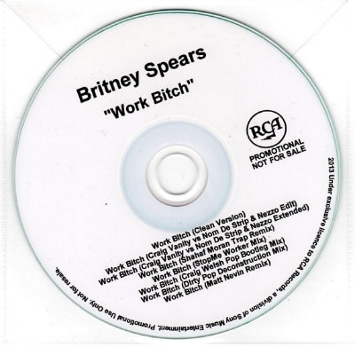 Britney Spears Work Bitch 2013 Songs To Clean Your