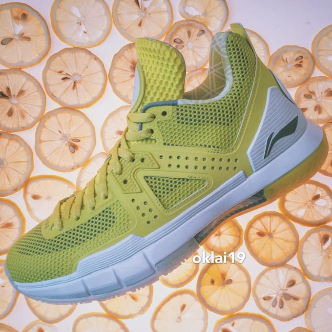 Li-Ning Way of Wade 5 Yellow Volt (1)