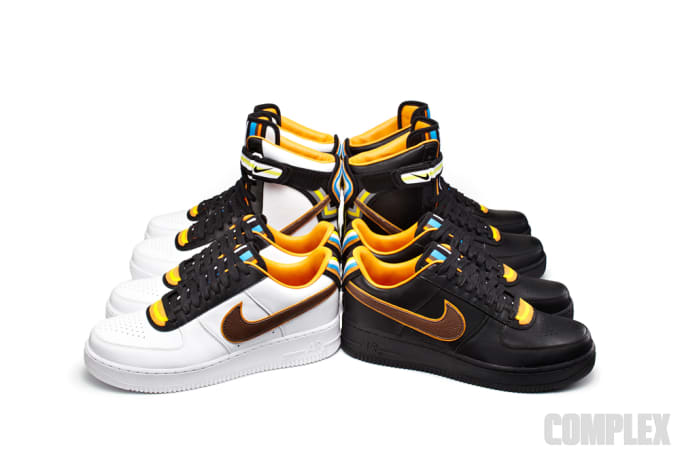 promo code 02390 00c9e Riccardo Tisci has worn white Air Force 1s for the last 15 years, and so  when the call came from Nike seeing if he was interested in collaborating,  ...