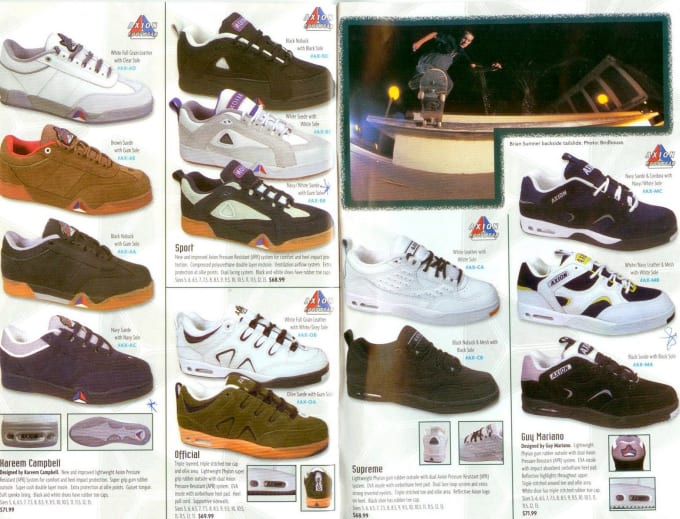 vans skate shoes 90s