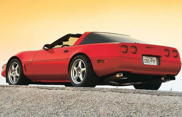 c4 lt1 the 25 fastest corvettes ever made complex. Black Bedroom Furniture Sets. Home Design Ideas