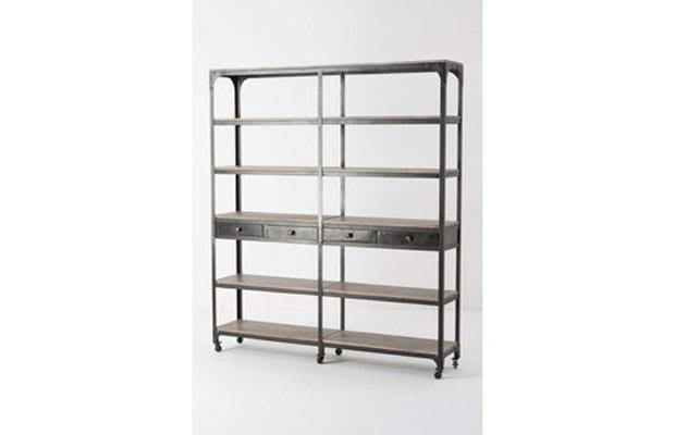 Decker Double Bookcase