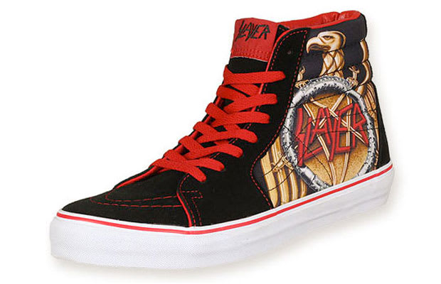 87c142cd11 The 10 Coolest Vans Rock and Roll Sneakers of All Time