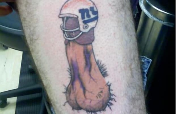 21 gallery hilarious nfl fan tattoo fails complex for Nfl tattoos gallery