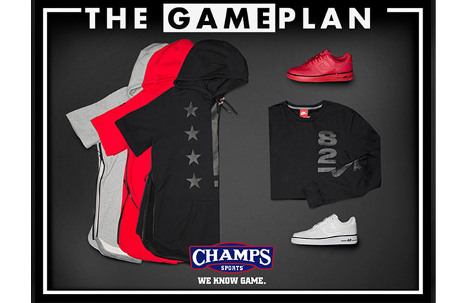 "846bfbf5fa4 The Game Plan by Champs Sports Presents the Nike Air Force 1 ""Pivot Pack"""