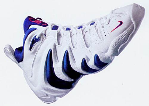 Image result for Nike Air Swoopes Zoom Athlete: Sheryl Swoopes Year: 1997 Sponsor: Nike