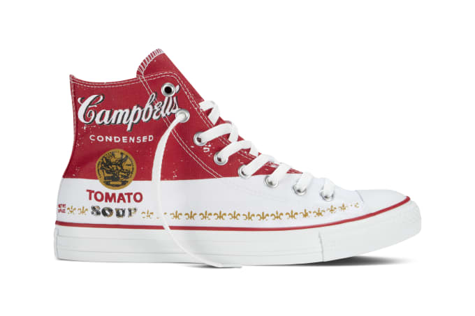 0ff7b7d9f7d Converse Launching Andy Warhol x Converse Chuck Taylor All Star Collection