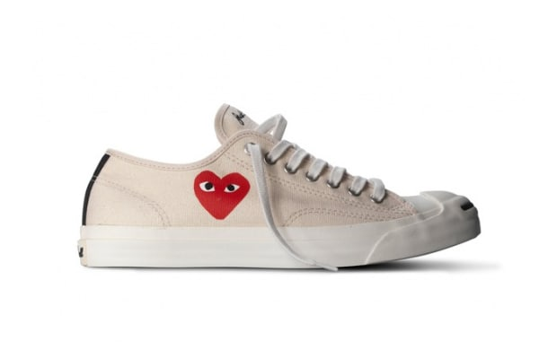 2cb7cb465fe Comme des Garcons Play x Converse Jack Purcell